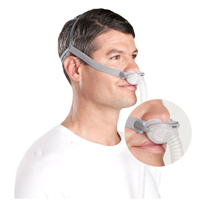 headgear productpage cpap mask with nasal resmed com pillow cpapdotcom mannequin view not front airfit included